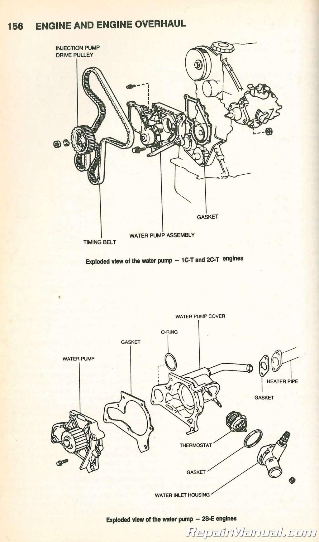 hight resolution of chilton toyota camry 1983 1992 repair manual