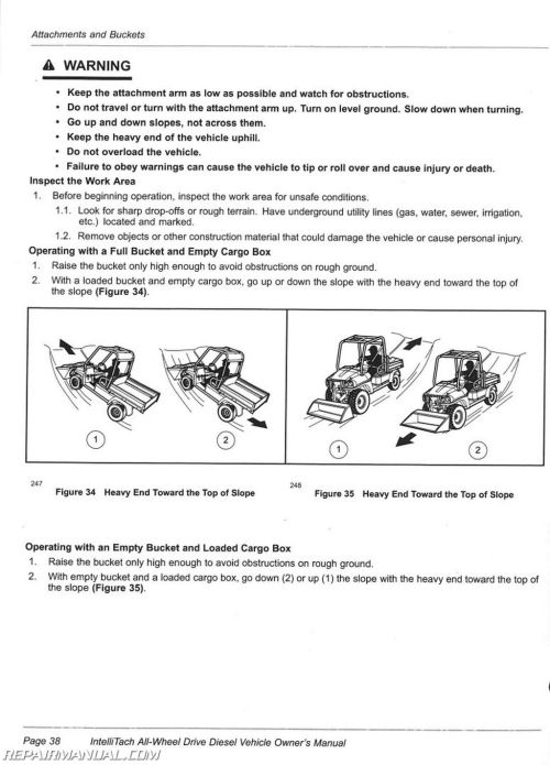 small resolution of club car carryall 295 intellitach xrt 1550 intellitach diesel vehicle owners manual