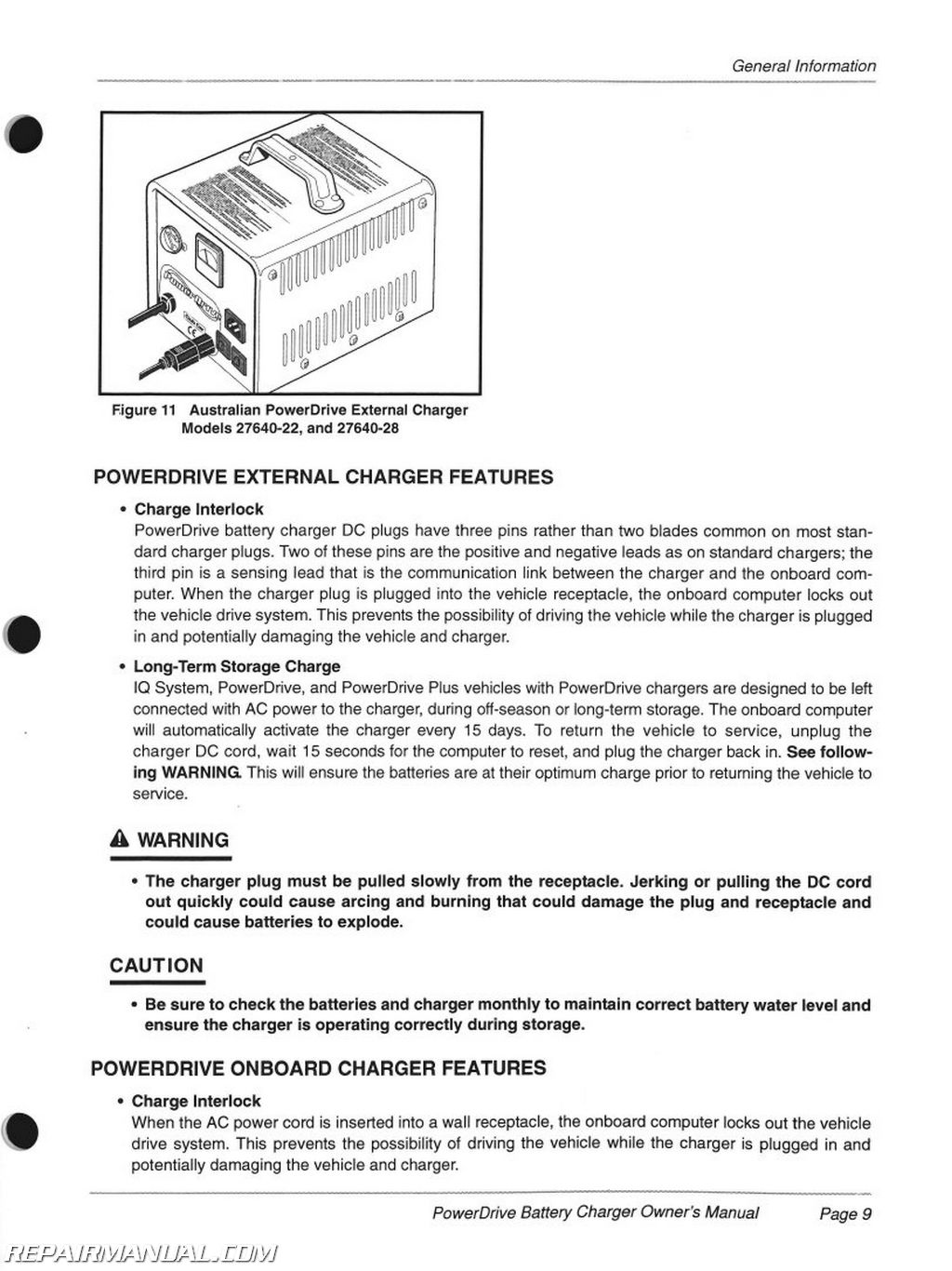 Club Car Domestic And Export Iq Plus Battery Charger Owners Manual Wiring Diagram