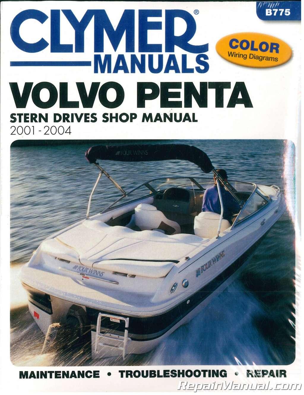 hight resolution of clymer 2001 2004 volvo penta stern drive