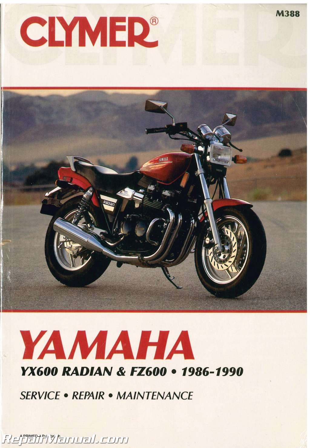 Diagram Of 1988 Radian Yx600u Yamaha Motorcycle Carburetor Diagram