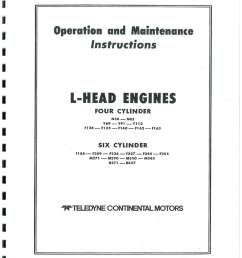 f 162 continental engine diagram wiring diagram databasecontinental red seal l head engine service manual f [ 1024 x 1325 Pixel ]