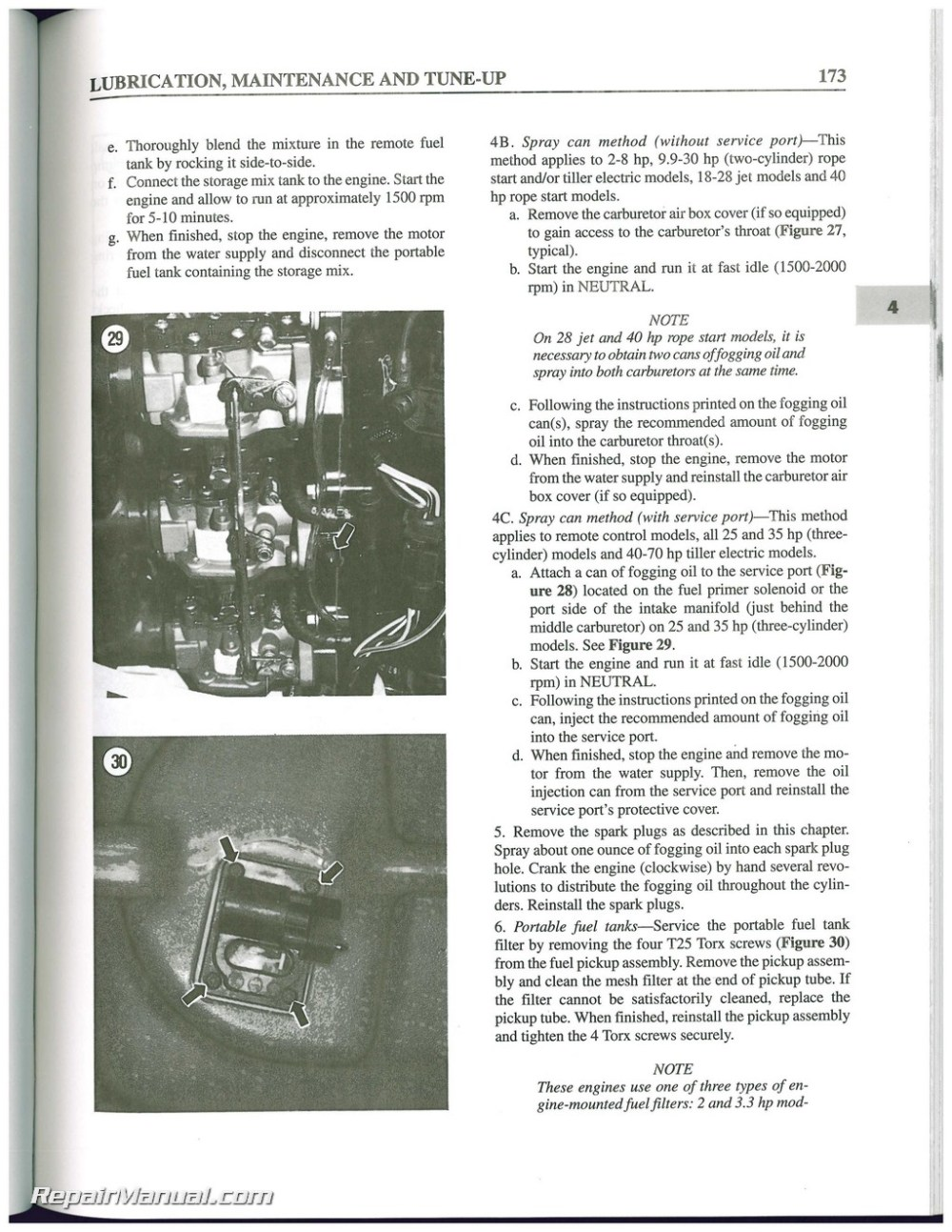 medium resolution of used evinrude johnson 2 70 hp 2 stroke outboard boat shop manual 1995 1996 1997 1998