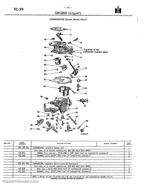 small resolution of farmall h tractor part diagram wiring diagram third level rh 8 4 16 jacobwinterstein com international farmall m wiring diagram farmall m carburetor parts