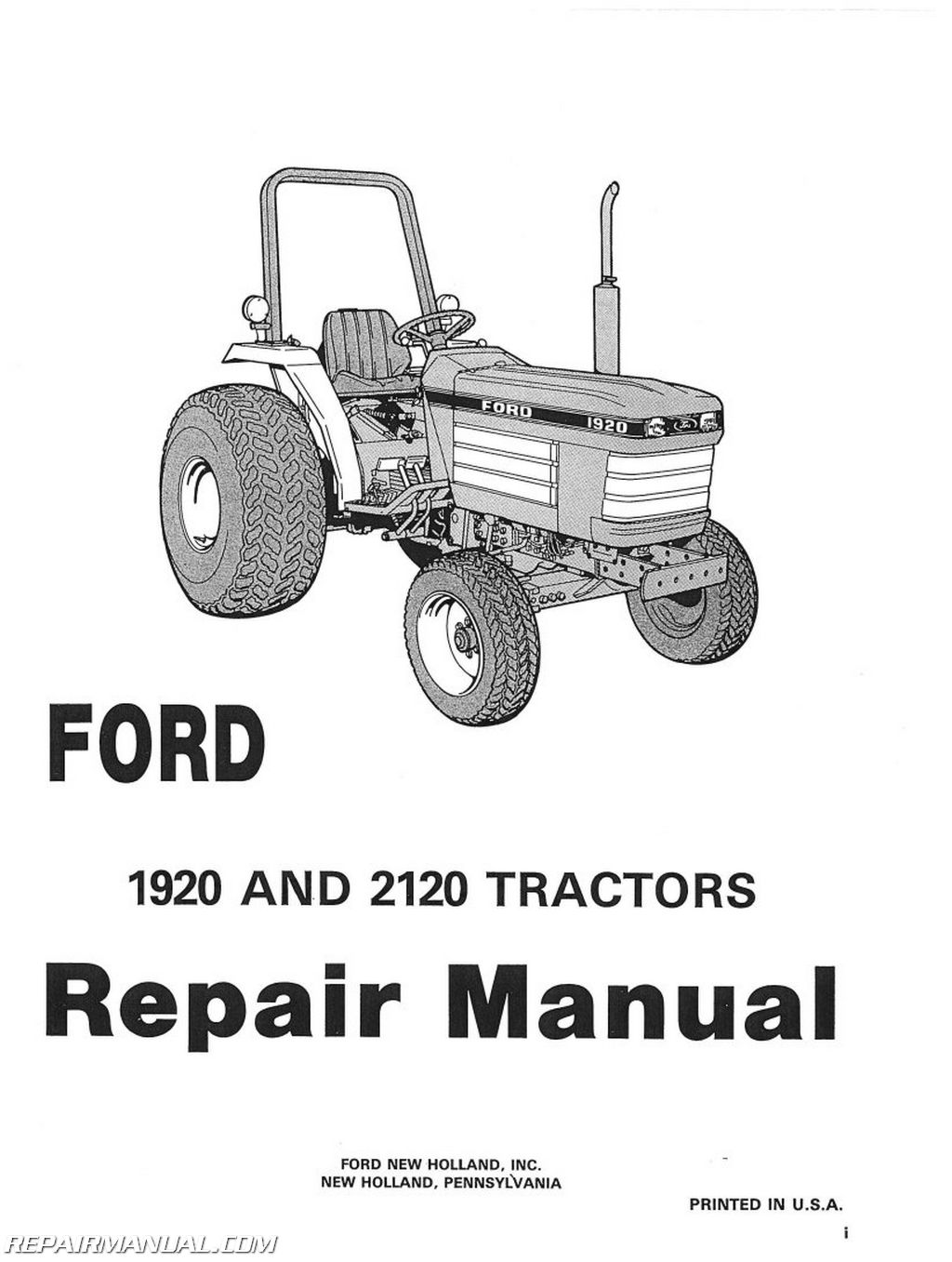 1975 ford tractor wiring diagram