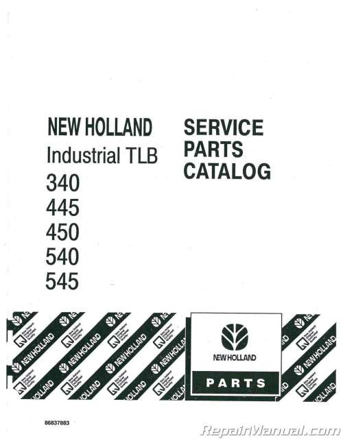 small resolution of ford 340 445 450 540 545 tractor parts manual ford focus parts schematic ford parts schematic