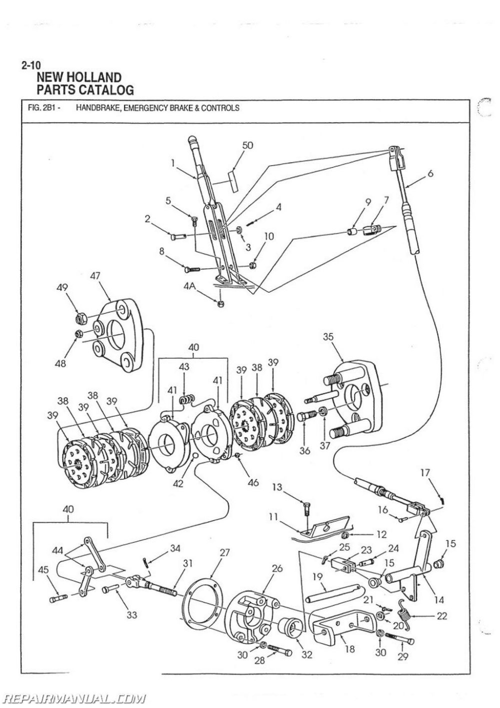 Ford 555 Backhoe Charging System Wiring