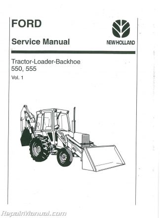 Ford CL30-CL40 Skid Steer Compact Loader Tractor Service