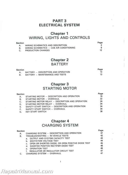 small resolution of ford 555 backhoe charging system wiring