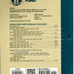 Ford 4000 Wiring Diagram Pictures Of The Human Nose And Throat New Holland 2000 3000 3 Cylinder Pre 1975