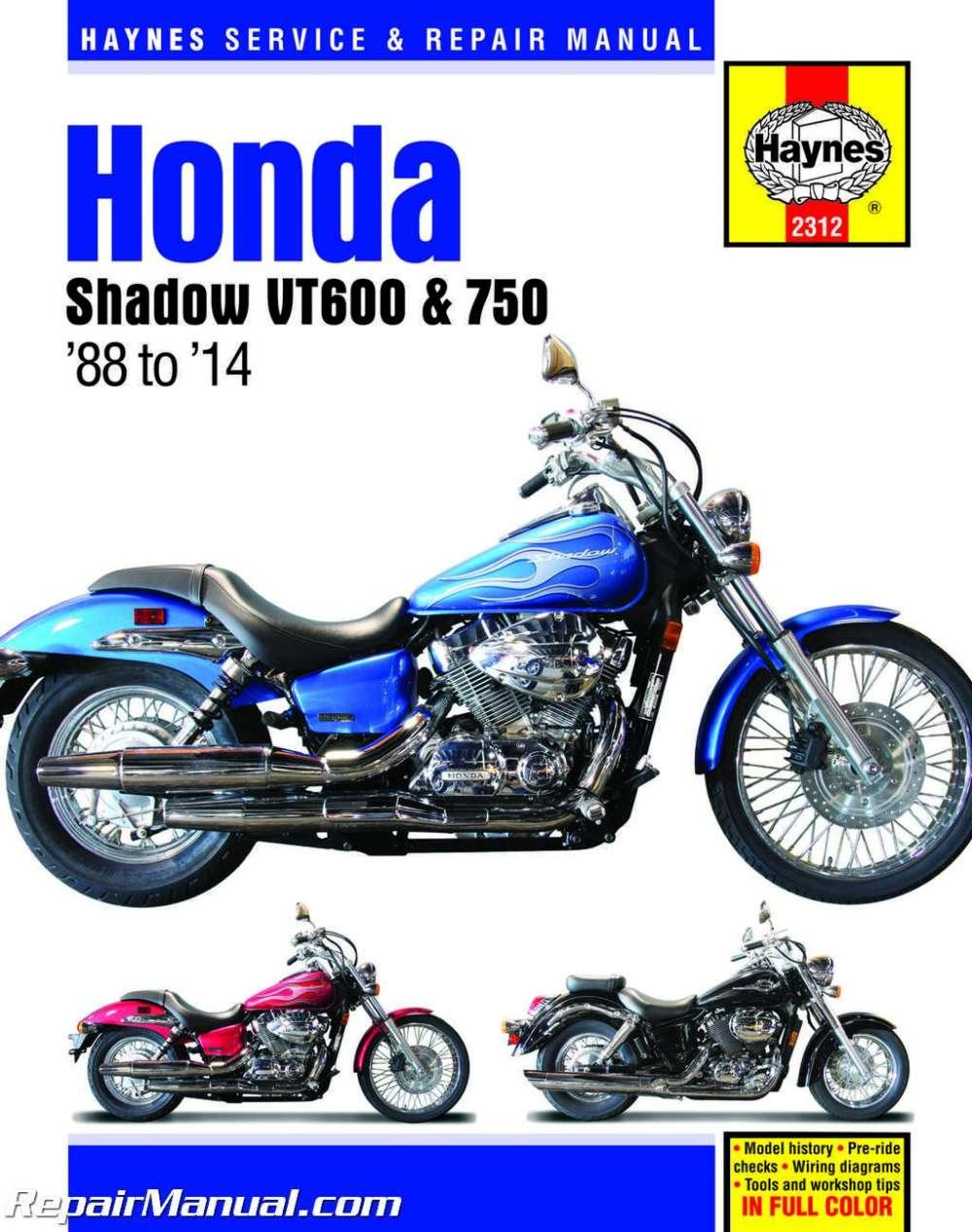 medium resolution of 1988 2014 honda shadow