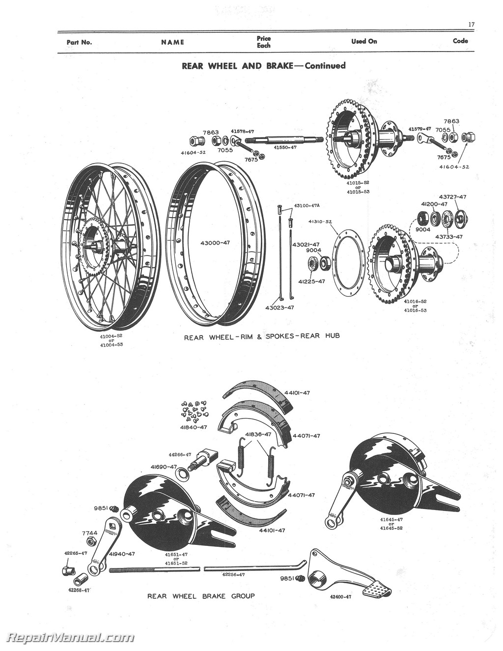 Wisconsin Engine Parts Diagram