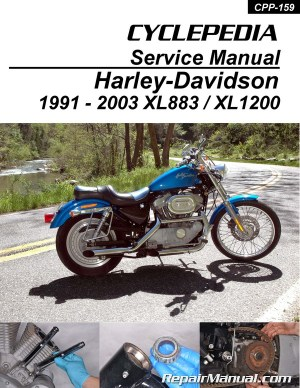 HarleyDavidson XL883 XL1200 Sportster Printed Cyclepedia