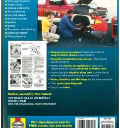 ford ranger pick up trucks and bronco ii 1983 1992 haynes truck repair manual [ 1024 x 1325 Pixel ]