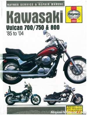 Haynes Kawasaki Vulcan 700 750 800 19852004 Service