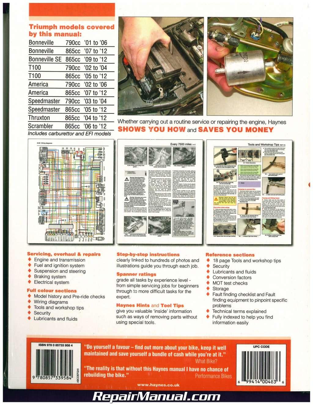 2009 triumph bonneville wiring diagram sky q t100 speedmaster america thruxton