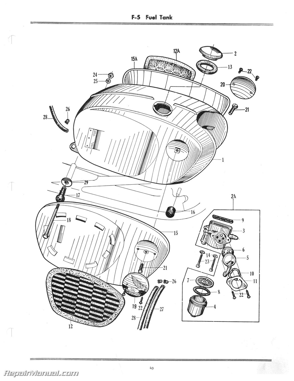 Honda CB160 Motorcycle Parts Manual