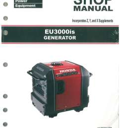 honda eu3000is generator shop manual [ 1024 x 1325 Pixel ]