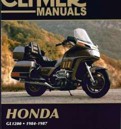 honda gl1200 gold wing motorcycle repair manual 1984 1987 clymer h00990155 as well gl1500 circuit likewise honda goldwing gl1200 wiring diagram  [ 1024 x 1359 Pixel ]