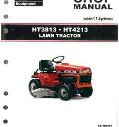 wire diagram honda 3813 wiring diagrams honda yard tractors honda ht3813 ht4213 lawn tractor shop manual [ 1024 x 1325 Pixel ]