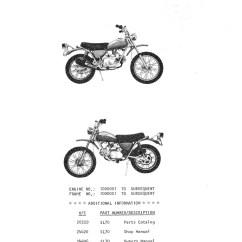 2002 Xr650r Wiring Diagram 2005 Honda Odyssey Parts Sl70 Harness Library