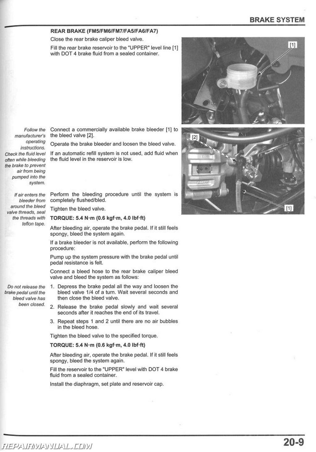 hight resolution of trx500fe atv wiring diagram for dummy