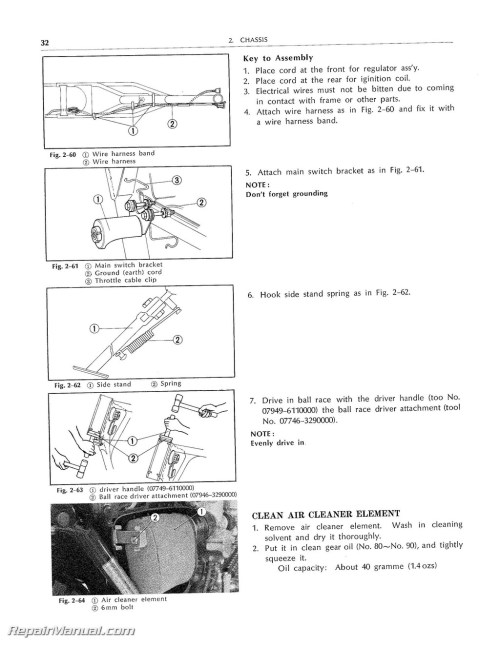 small resolution of  1976 honda xl250 wiring diagram