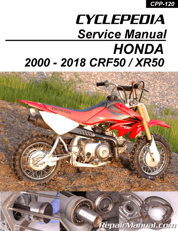 2005 crf50 wiring diagram honeywell dt90e digital room thermostat honda xr50 motorcycle cyclepedia printed service manual