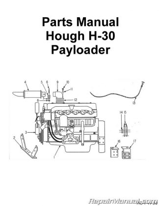 Hough H-30 Payloader Parts Manual