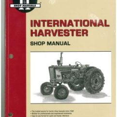 International Tractor 674 Wiring Diagram Pioneer Deh 2100ib Harvester Service Manual 454 464 484 574 584 100 2504 B 275 414 Farm