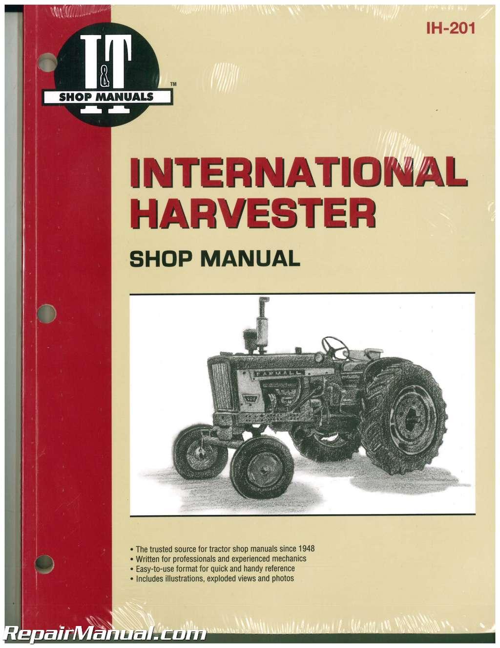 hight resolution of international harvester 100 2504 b 275 b 414 farm tractor service manual