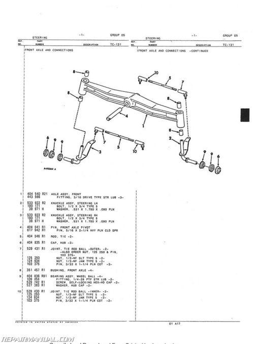 small resolution of  cub lo boy wiring diagram on cub cadet wiring diagram cub lo boy tractor