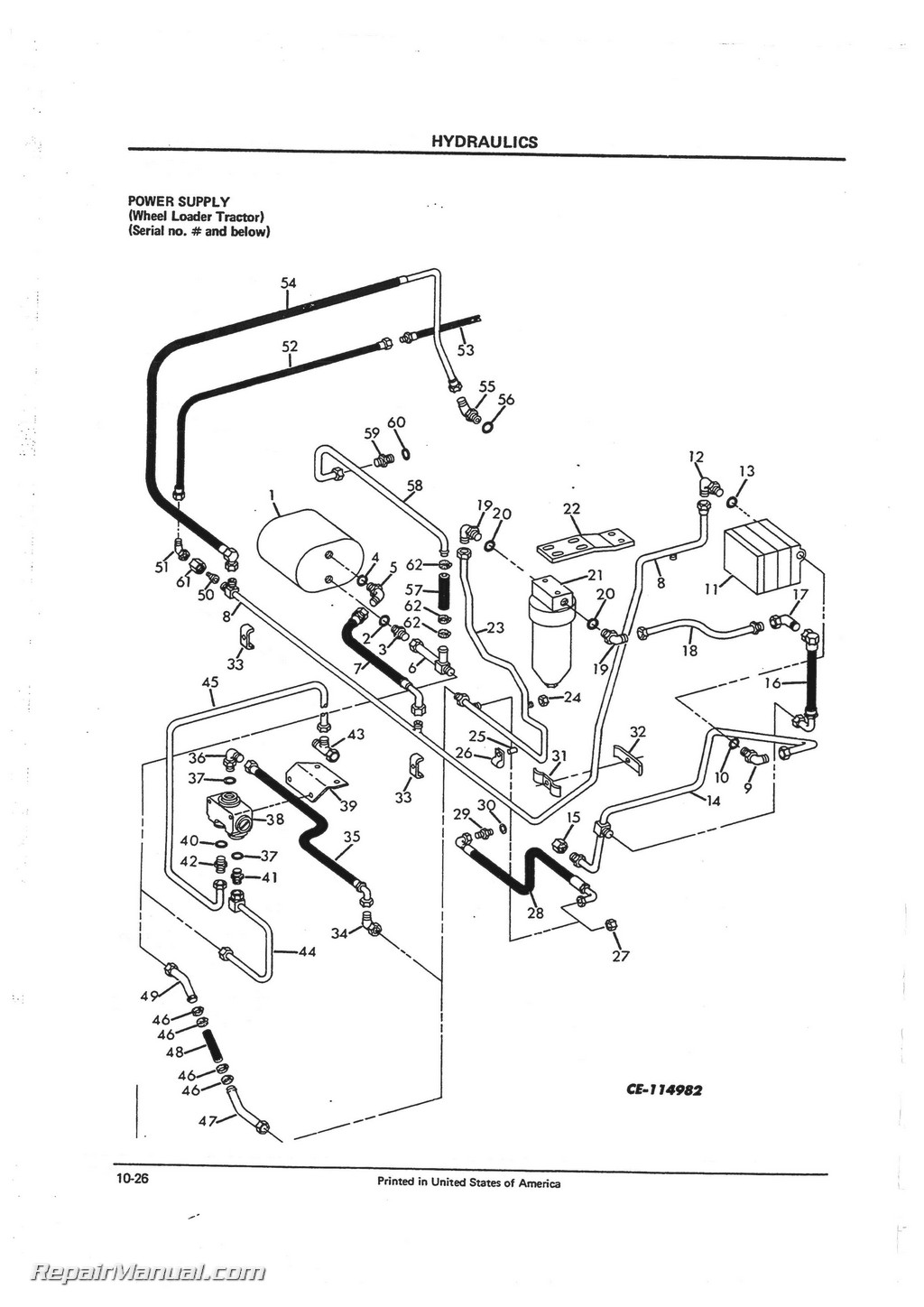 Jd 410 Backhoe Hydraulic Diagram