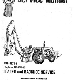 international harvester 3444 tractor loader backhoe manual page 1 jpg international harvester 3444 tractor loader backhoe service manual  [ 1024 x 1448 Pixel ]