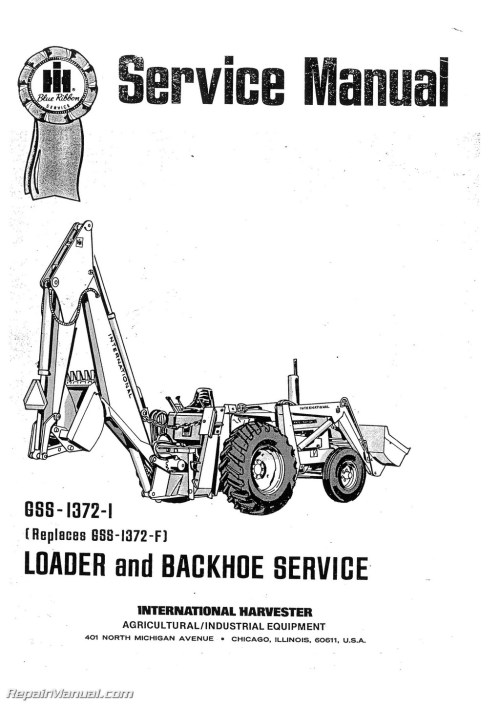 small resolution of international harvester 3444 tractor loader backhoe manual page 1 jpg international harvester 3444 tractor loader backhoe service manual