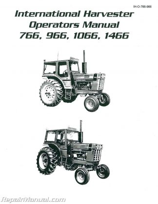 Case 2090 2290 2390 2590 Tractor Service Manual