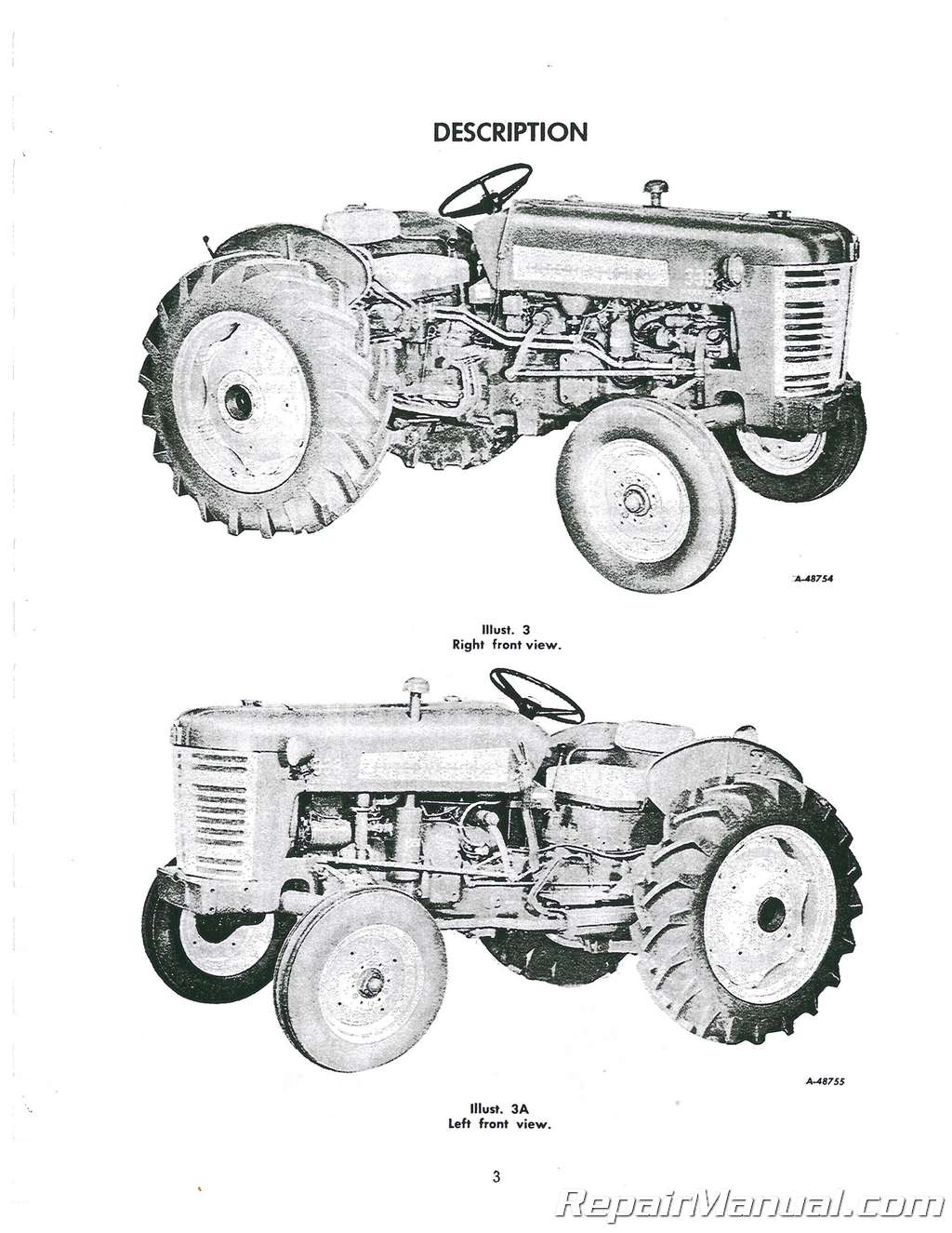 International Harvester Farmall 330 Utility Operators