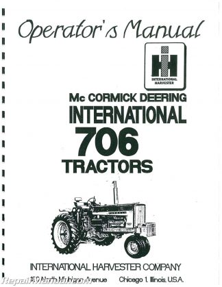 Deutz-Allis 5220 5230 Diesel 2 and 4WD Synchro Lawn and