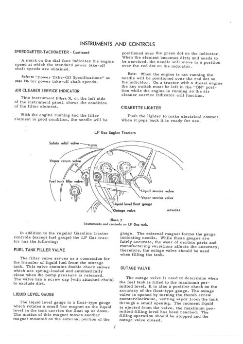 small resolution of international harvester farmall 806 tractor operators manual farmall 806 wiring diagram