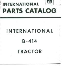 international harvester farmall b 414 parts manual farmall b parts diagram [ 1024 x 1325 Pixel ]