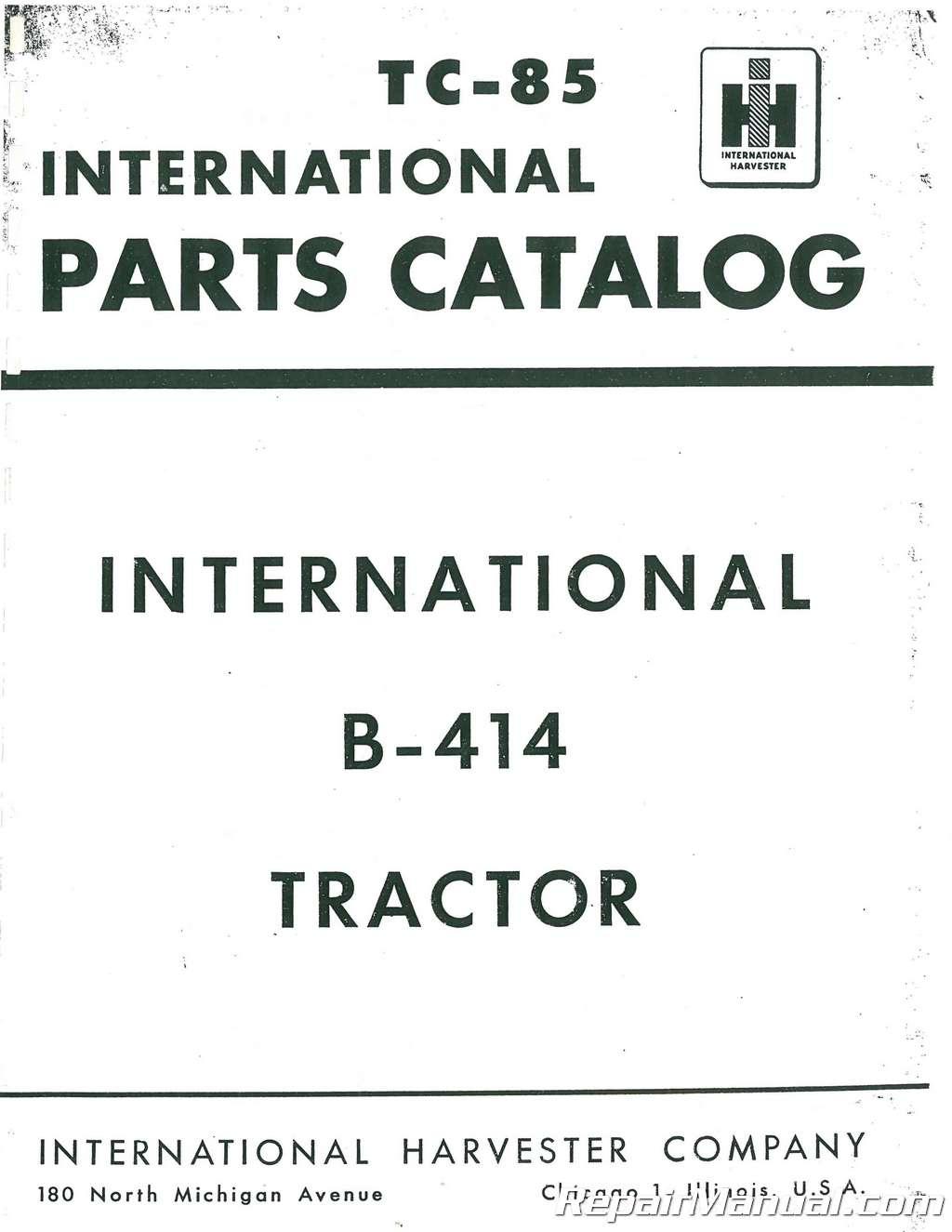 hight resolution of international harvester farmall b 414 parts manual farmall b parts diagram