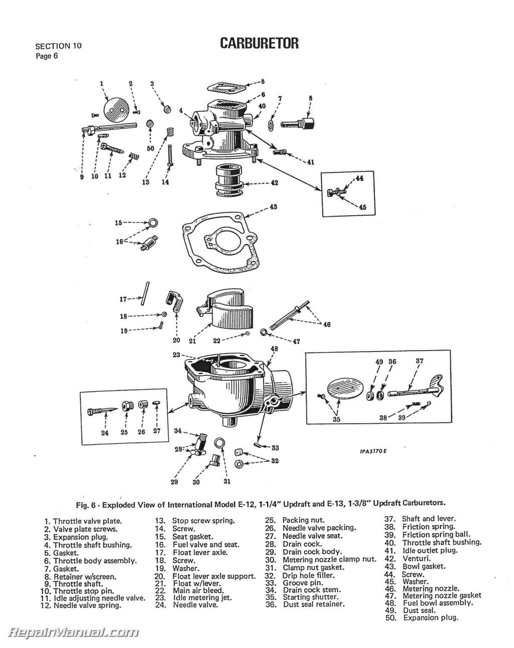 1951 farmall m wiring diagram 4 way switch international harvester tractor engine clutch