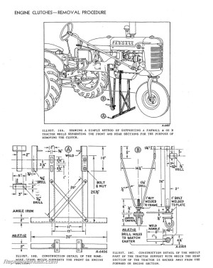 International Harvester Farmall Tractor Engine Clutch
