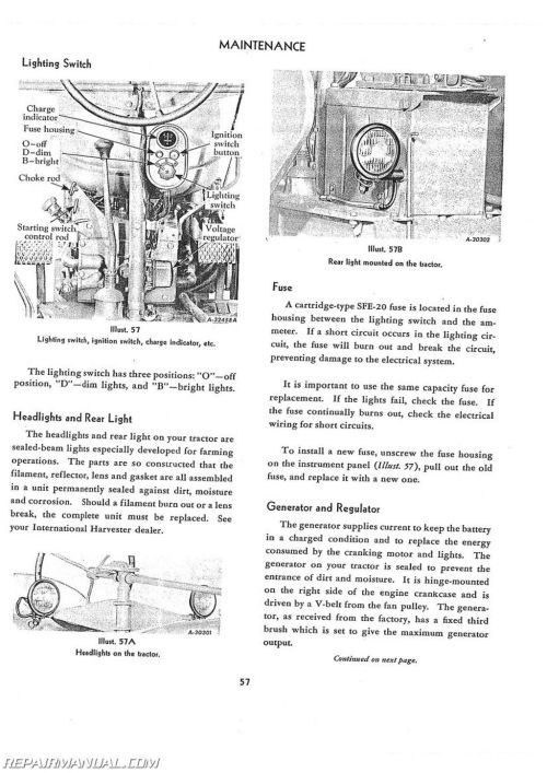 small resolution of 1954 international farmall wiring diagram wiring library rh 54 codingcommunity de farmall super a tractor diagram
