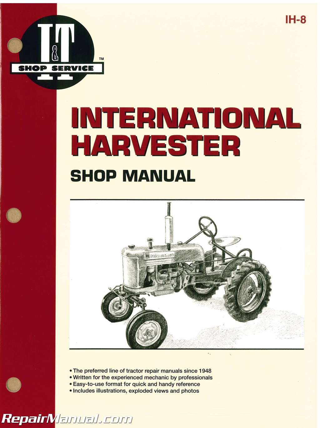 Farmall M Tractor Manuals Md Wiring Diagram