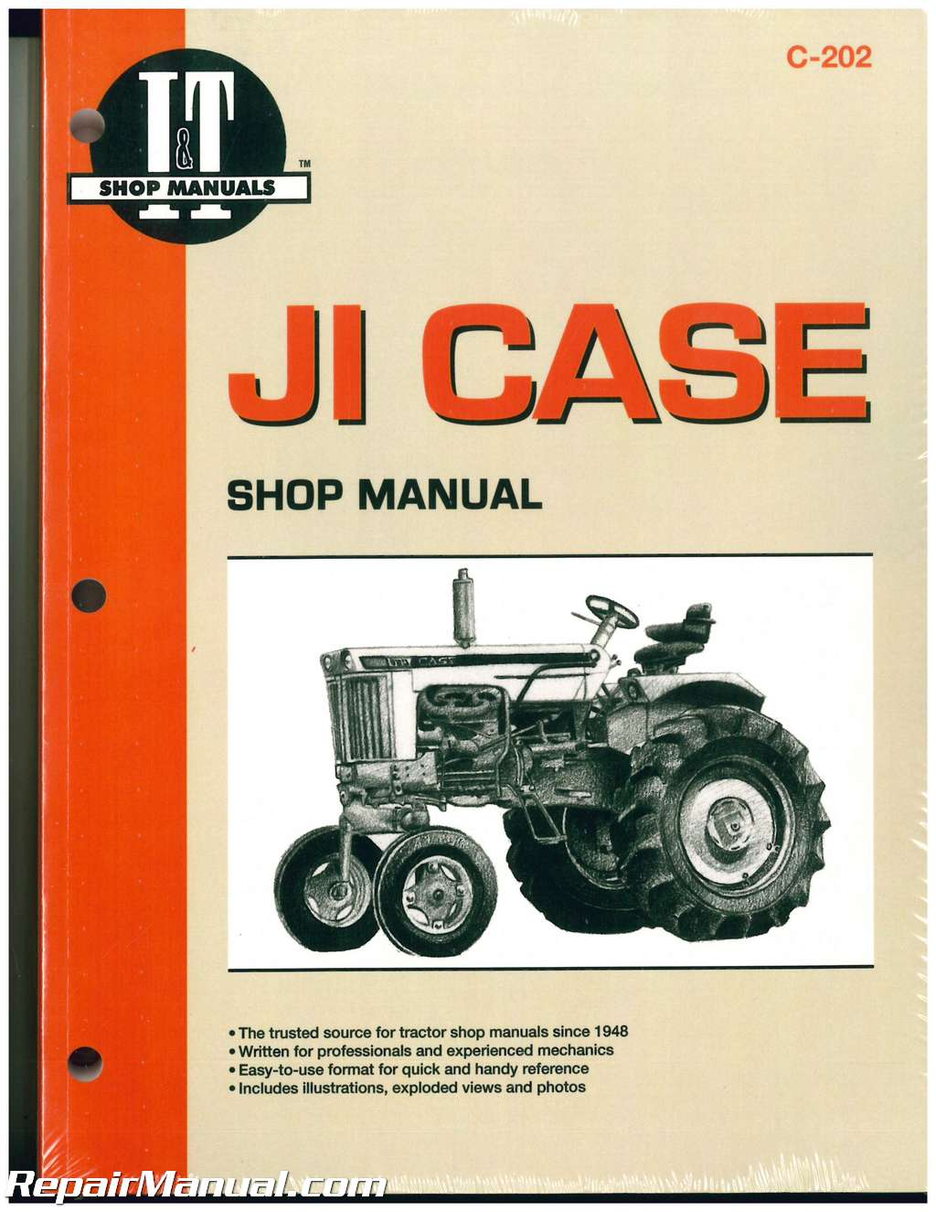 hight resolution of ji case david brown tractor repair manual 430 440 470 500 530 540ji case david brown