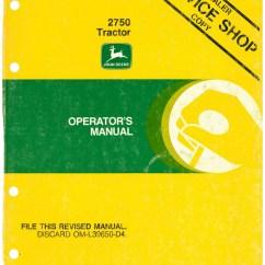 John Deere 2750 Alternator Wiring Diagram 700r4 Automatic Transmission Tractor Operators Manual