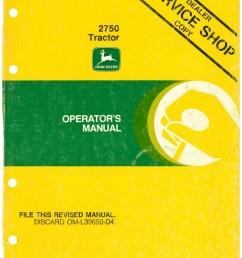 john deere 2750 tractor operators manual john deere 1010 wiring diagram john deere 2750 tractor operators [ 1024 x 1325 Pixel ]