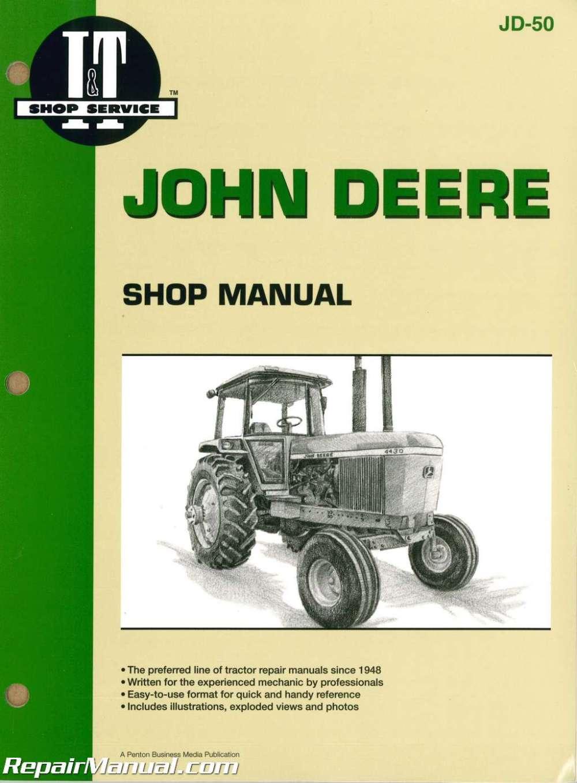 medium resolution of john deere 4030 4230 4430 4630 tractor workshop manual 4230 john deere tractor wiring diagram