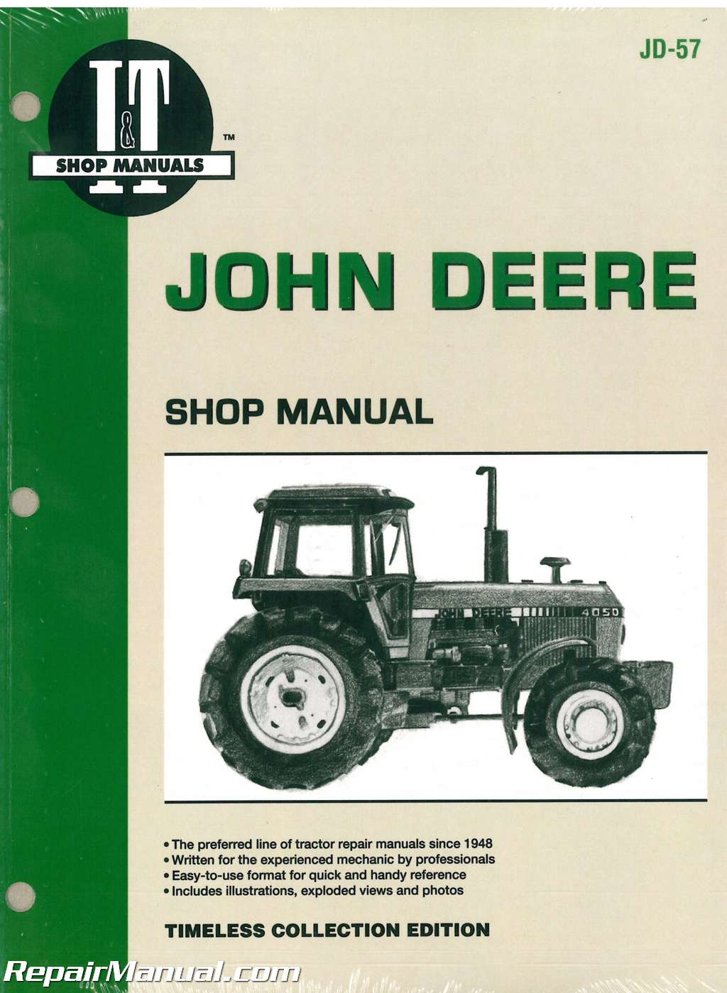 hight resolution of john deere 4050 4250 4450 4650 4850 tractor service manual wiring diagram for john deere 4250